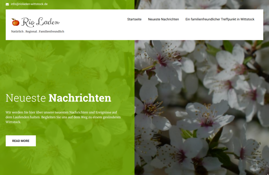 RioLaden website screenshot